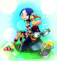 Rayman and Ly by Baitong9194