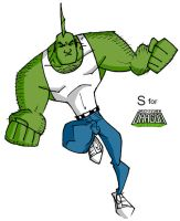 S is for Savage Dragon by mattcrap