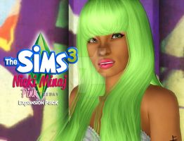 The Sims 3: Nicki Minaj Edition by PinkSushi131