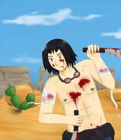 desert blood shed by my-darkness