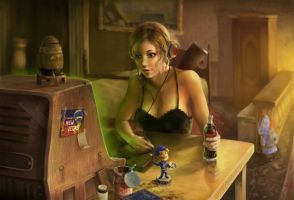 FALLOUT - A Hairy Wasteland Chapter 01 by AngelMio