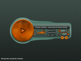 Winamp Skin Concept 01 by Tooschee