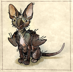 My ugly gremlin baby by cheepers