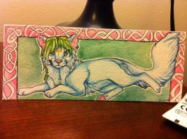 Bookmark commission 2 by nightspiritwing