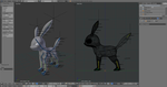 Umbreon Rig by alewism
