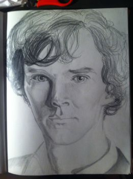 Benedict Cumberbatch by Art-4-EM