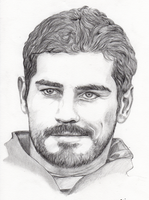 Iker Casillas by Pinumbra
