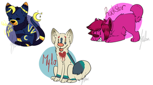 Chibi batch 6 :pc: by mosspaws