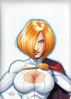PowerGirl by jtackkett