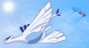 Lugia and Articuno's End by Articuno