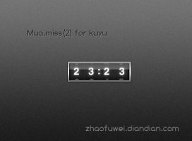 Mua.miss_2 for xwidget by wanjuninlove-Muma
