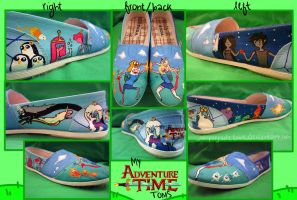 Adventure Time Toms by juniperjadelove
