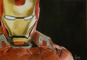 Iron man by Leenke