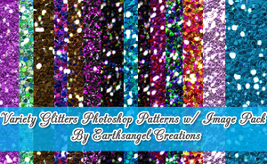 Variety Glitter Patterns by flawlessme06