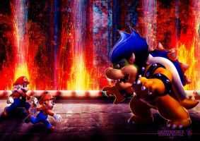 Mario-Future Battle-3D by xXLightsourceXx