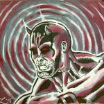 Daredevil Sketch Card by aldoggartist2004