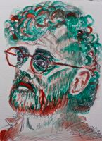 Terence McKenna by HedgehogMolly
