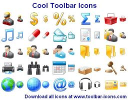 Cool Toolbar Icons by Iconoman