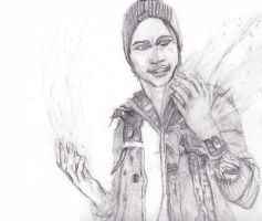 delsin rowe sketch by Falconian7