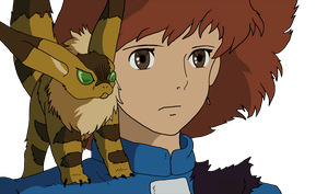 Nausicaa and Teto by AndyPritchard