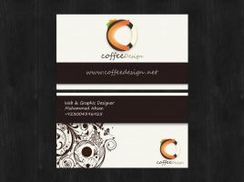 Business Card - CoffeeDesign by ahsanpervaiz