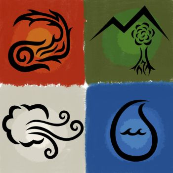 Four Elements by ForgottenMoonchild