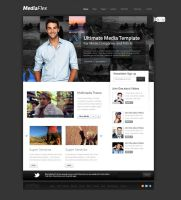 MediaFlex WordPress Theme by thebebel