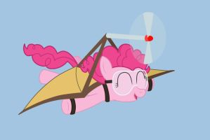 Flying Pinkie Pie by Birdco