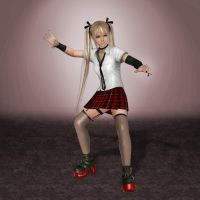 Dead Or Alive 5 Ultimate Marie Rose by ArmachamCorp