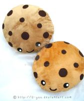 Cookie pillows by TokiCrafts