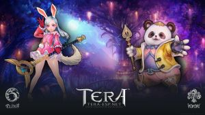 TERA Elin and Popori Wallpaper by rendermax