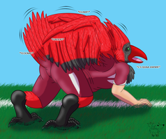 NFL TF #12: Big Red the Cardinal by Pheagle-Adler