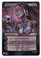 Liliana Vess - MTG Alter by seesic