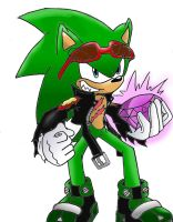 Scourge the Hedgehog by 4sonicfan