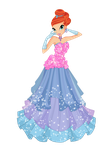 Bloom Flower Dress by WinxFandom
