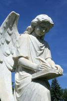 Mount Olivet Cemetery Archangel Uriel 77 by Falln-Stock
