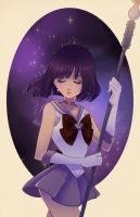 Sailor Saturn by Watertae