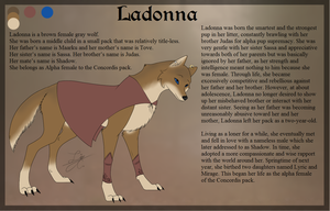 Ladonna - Character Ref by 3933911