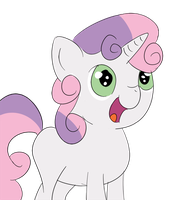 Sweetie Belle! by brentsienna