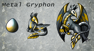 Squiby - Metal Gryphon spoiler by Chimajra