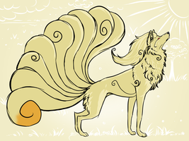 Ninetales by disasterpuppet