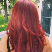 Ravishing red by Jenny by Hairwego13