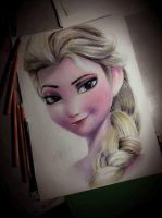Elsa From Frozen by CliffaxBeron