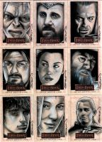 LOTR Sketch Cards 7 by RandySiplon