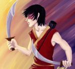 Zuko training by viria13