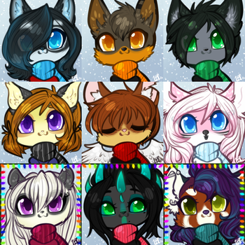 0189-197 ych icon coms by TehButterCookie