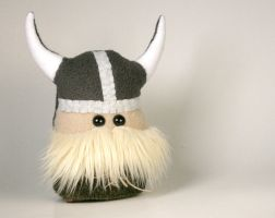 Little Stuffed Viking Plushie by Saint-Angel