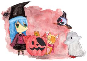 Halloween by Paintwick