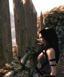 Staring out into Whiterun by Lesliewifeofbath
