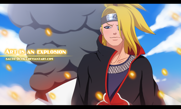 Art is an explosion by Sauto-0chka